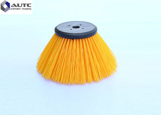 China Side Industrial Sweeping Brush , Power Sanitation Circular Street Cleaning Brushes supplier