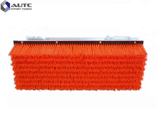 China Snow Cleaning Forklift Brush Sweeper For Road Sweepers Trunks Hard PP Base supplier