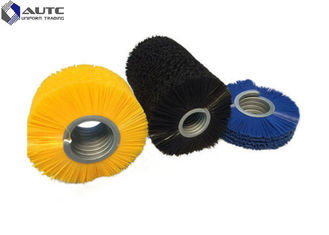 Multi Colored Spiral Brush Durable Inward Nylon Inner Type For Cleaning