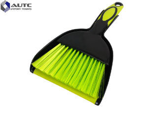 China Plastic Handle Housekeeping Brushes Broom Mini Dustpan With Set Table Cleaning supplier