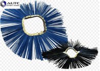 China Road Sweeper Wafer Brush , Rotating Snow Brush Convoluted Wavy Ring Durable factory
