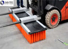 China Floor Forklift Brush Sweeper Industrial Warehouses High Density Easy Installation factory