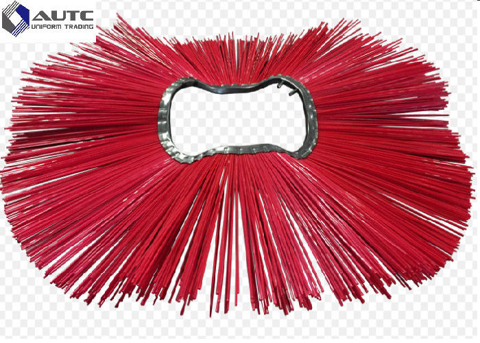 Easy Installation Snow Sweeper Brush PP Nylon Steel Mix Wire 275*915mm