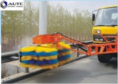 China Highway Industrial Sweeping Brush Guardrail Cleaning Truck Nylon Cloth Strip distributor