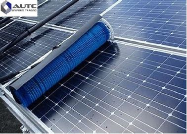 China Reusable Solar Panel Cleaning Brush Electric Industrial Roller For Telescopic Pole Handle distributor