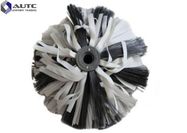 China Truck Guardrail Cleaning Brush , Fence Cleaning Brush Highway Gray White distributor