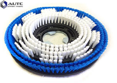 China Black Blue Disc Rotary Wire Brush , Rotary Wire Brush for Washing Machine factory