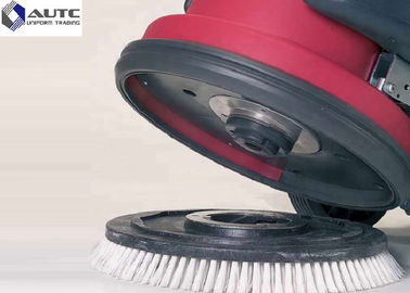 China 17 Inch Marble Rotary Floor Machine Brushes , Nylon Scrub Brush Hand Push Hotel Cleaner distributor