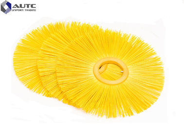 China Flat Style Snow Sweeper Brush PP Fastening Nylon Wire Customized Size distributor