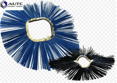 China Wafer Road Cleaning Brush Large Sweeping Brush Customized Size Blue Color OEM / ODM distributor