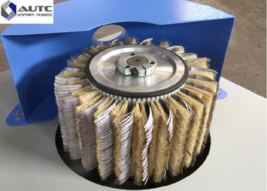 China Sisal Hemp Sandpaper Mixture Wire Wheel Brush , Small Wire Brush PP Steel distributor