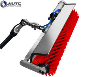 China PP Nylon Solar Panel Cleaning Rotating Brush Machine System High Efficiency distributor