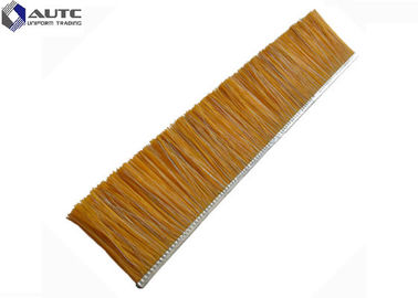 China OEM Metal Channel Strip Brushes PP Steel Bristle Wire Aluminium Alloy Cleaning Holder distributor