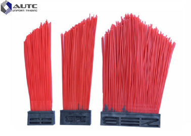 China PP Wire Strip Road Sweeper Brushes , Bolck Road Cleaning Brush Durable distributor