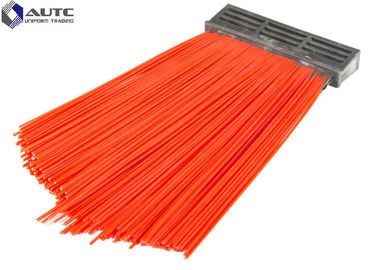 China PP Bristle Industrial Brushes Road Sweepers Strip Cleaning Forklift Road Sweeping distributor