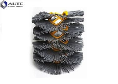 China High Wear Resistant Snow Sweeper Brush Wafer Round Shape With OEM / ODM distributor