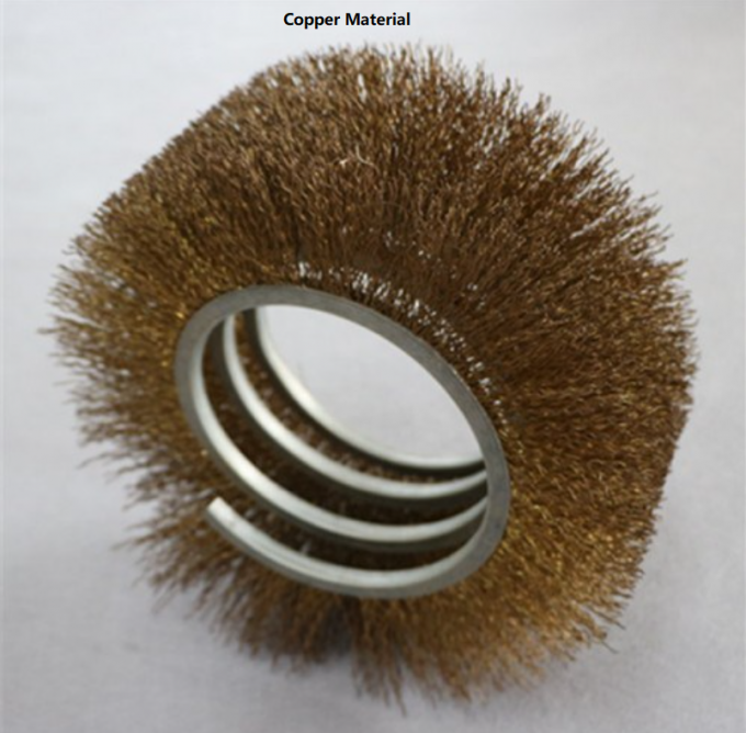Customized Flexible Industrial Spiral Wire Brush , Nylon Spring Brush Steel Copper