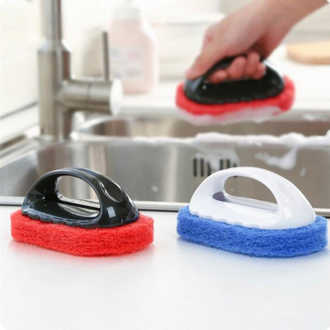 Multi function Housekeeping Brushes Non- Scratch Scrub Sponge for Kitchen Bathroom