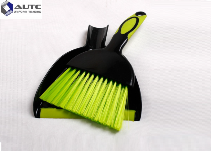 Plastic Handle Housekeeping Brushes Broom Mini Dustpan With Set Table Cleaning
